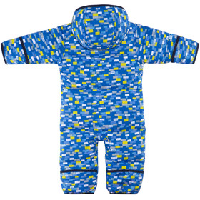Columbia Snuggly Bunny Bunting Toddlers Super Blue Blocks Print/Collegiate Navy